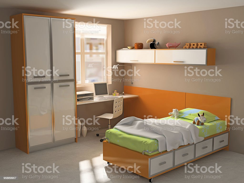 childroom royalty-free stock photo