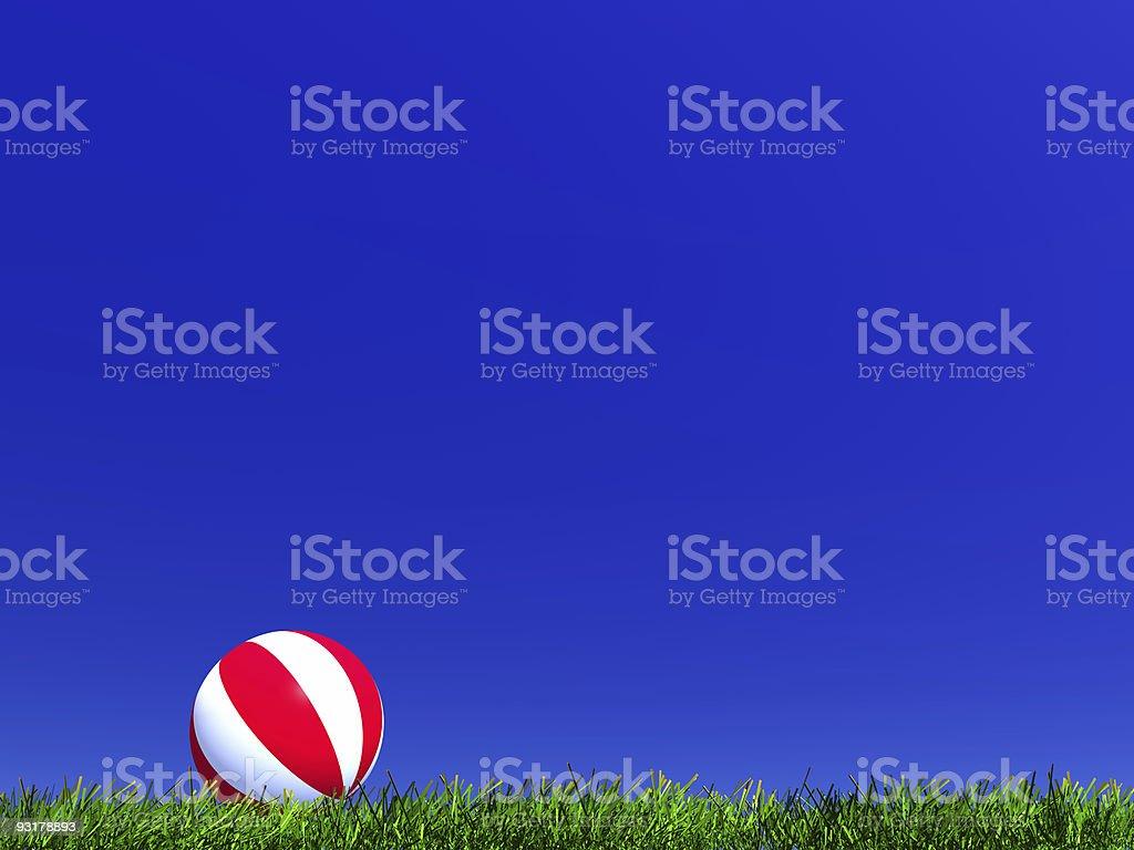 child's ball royalty-free stock photo