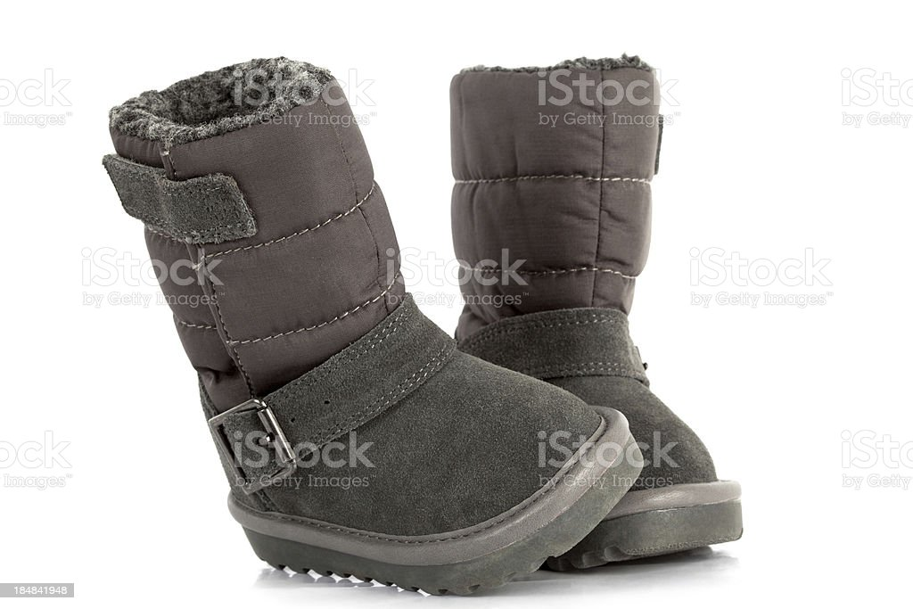 Child's Boots royalty-free stock photo