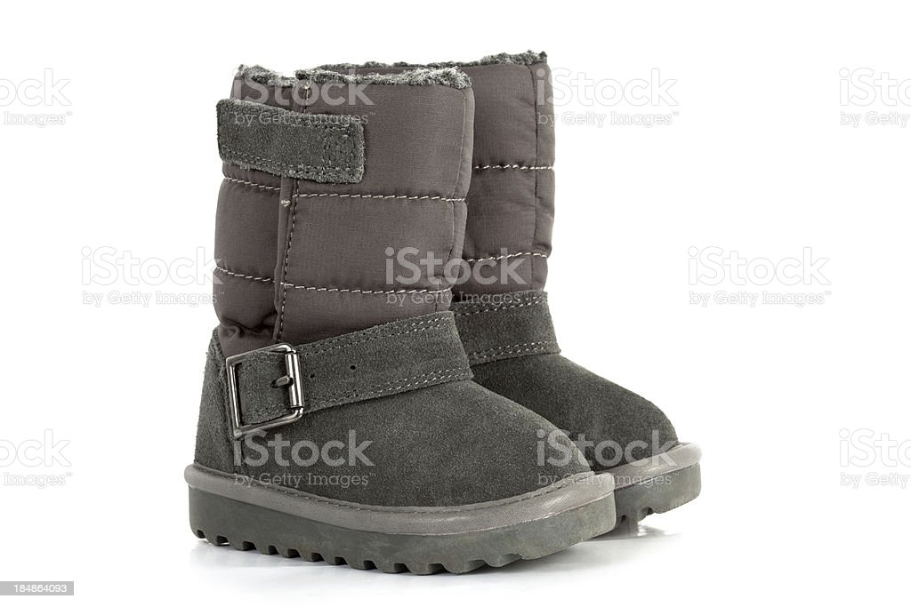 Child's Boots stock photo
