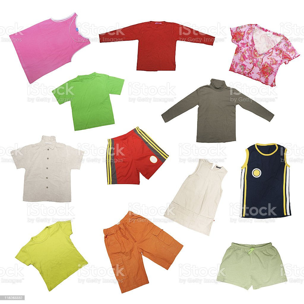 Child's cloth royalty-free stock photo