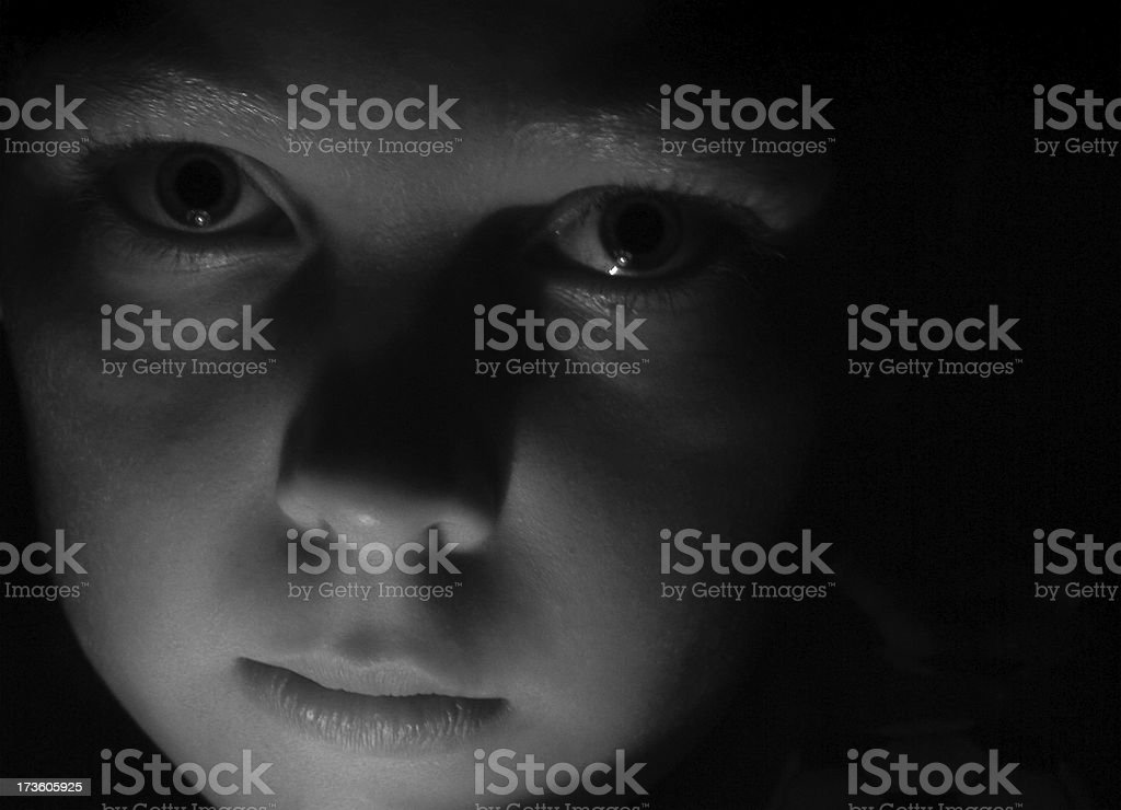 Child's Face royalty-free stock photo