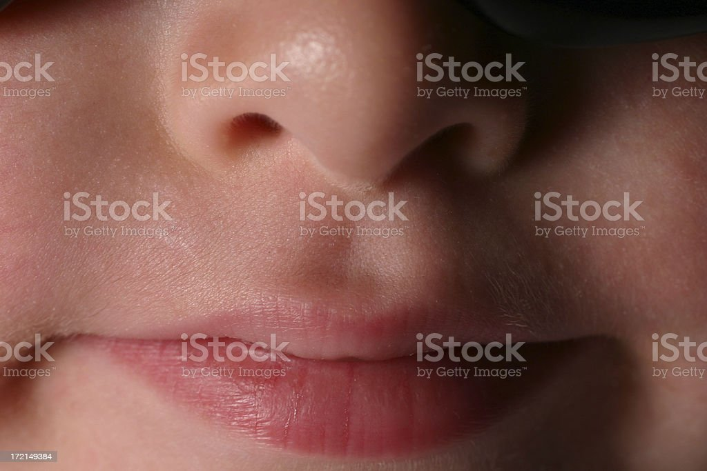 Child's Mouth royalty-free stock photo