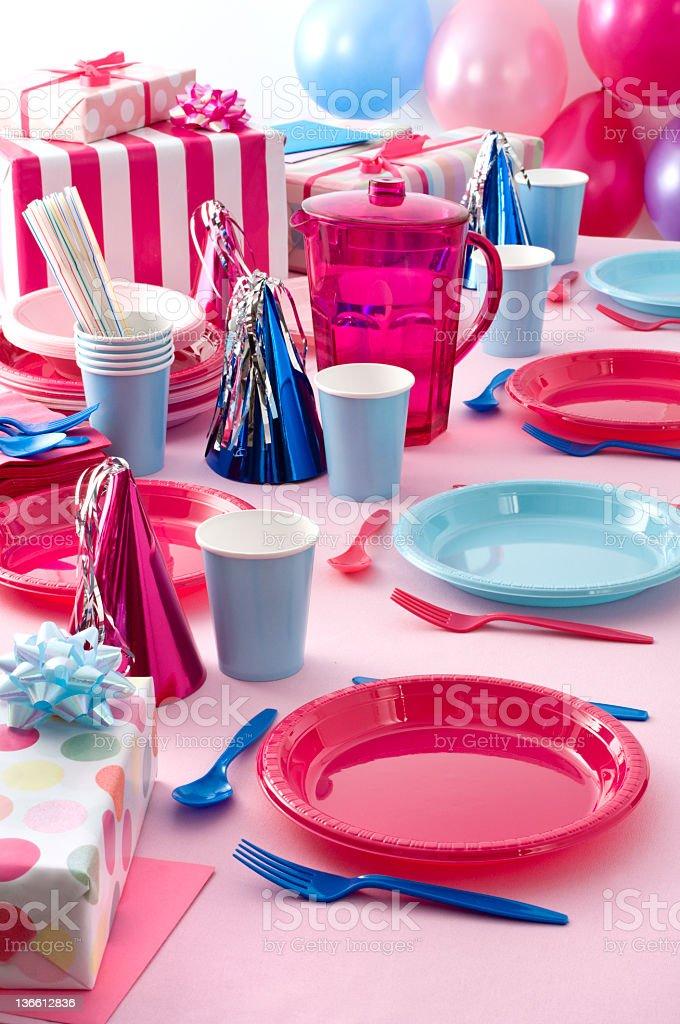 Child's party stock photo