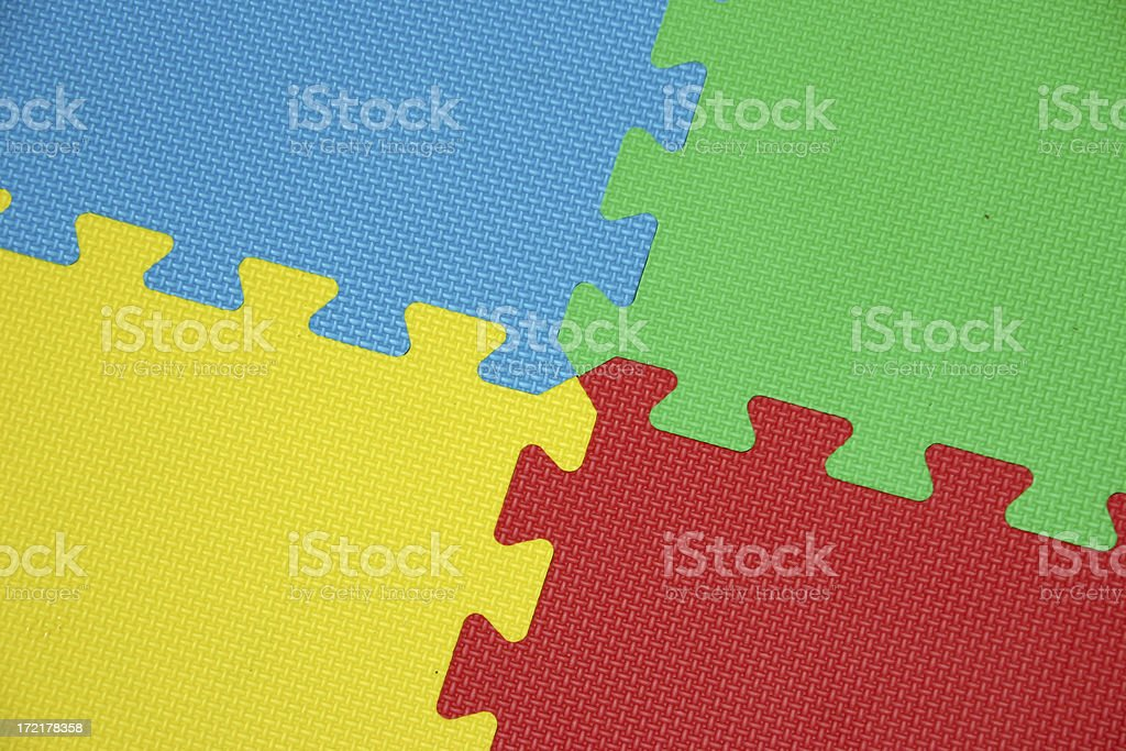 Childs Play Mats royalty-free stock photo