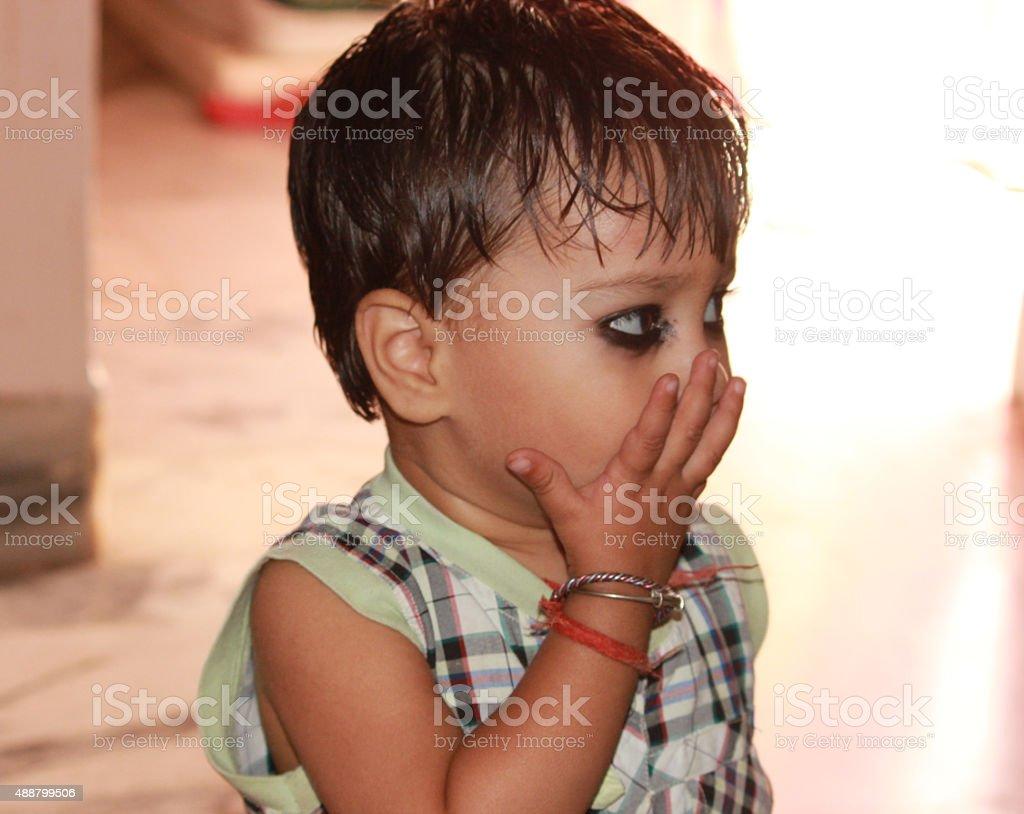 Child's Portrait stock photo