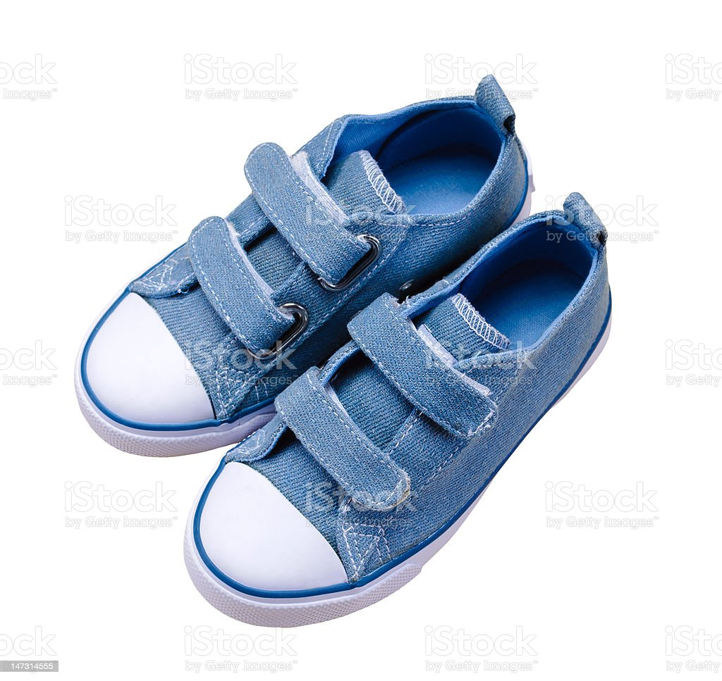 child's sport shoes royalty-free stock photo