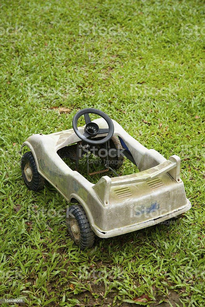 child's sportscar stock photo