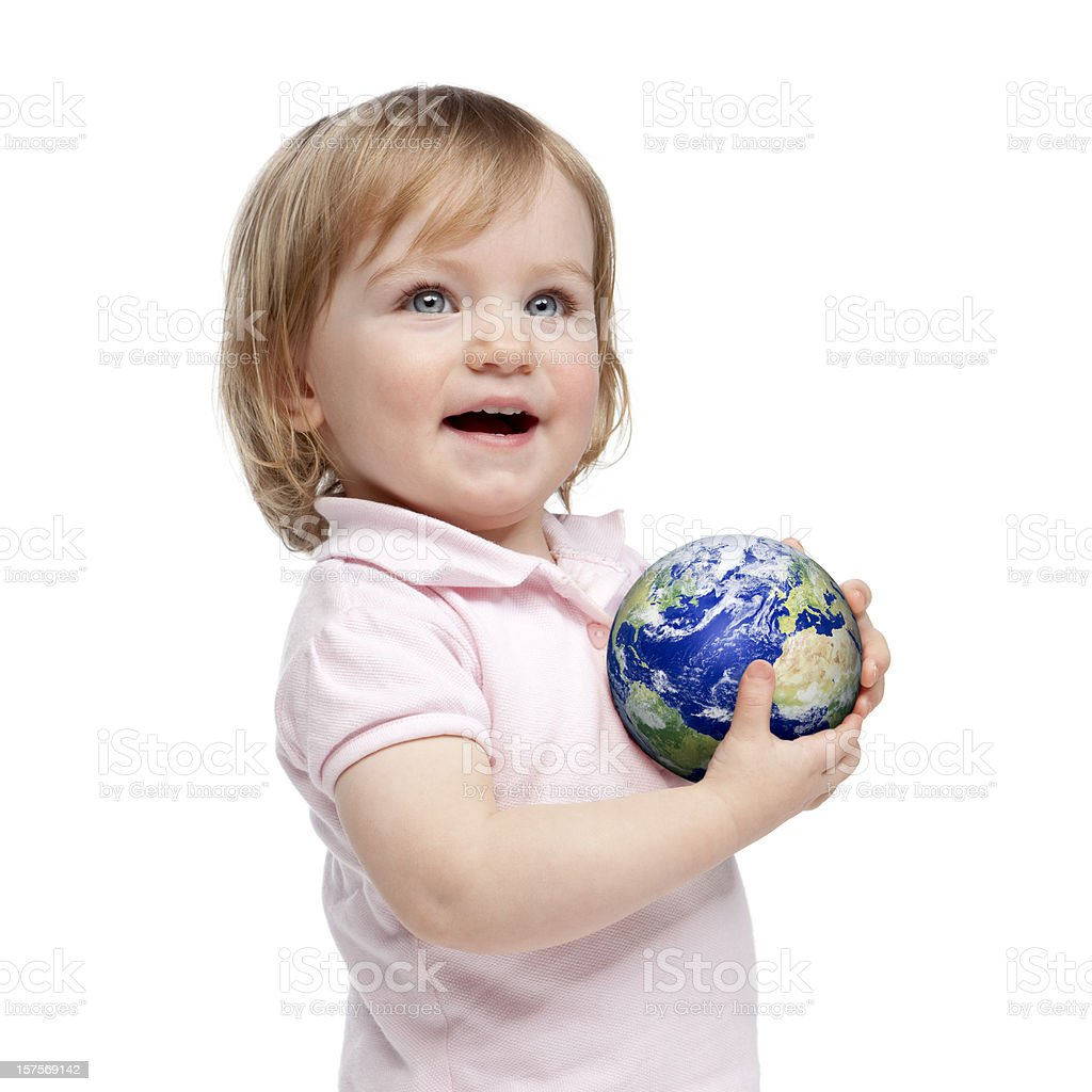 Childs world royalty-free stock photo