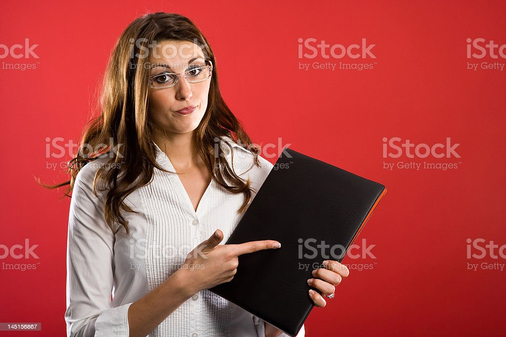 Childs - you have to learn! royalty-free stock photo