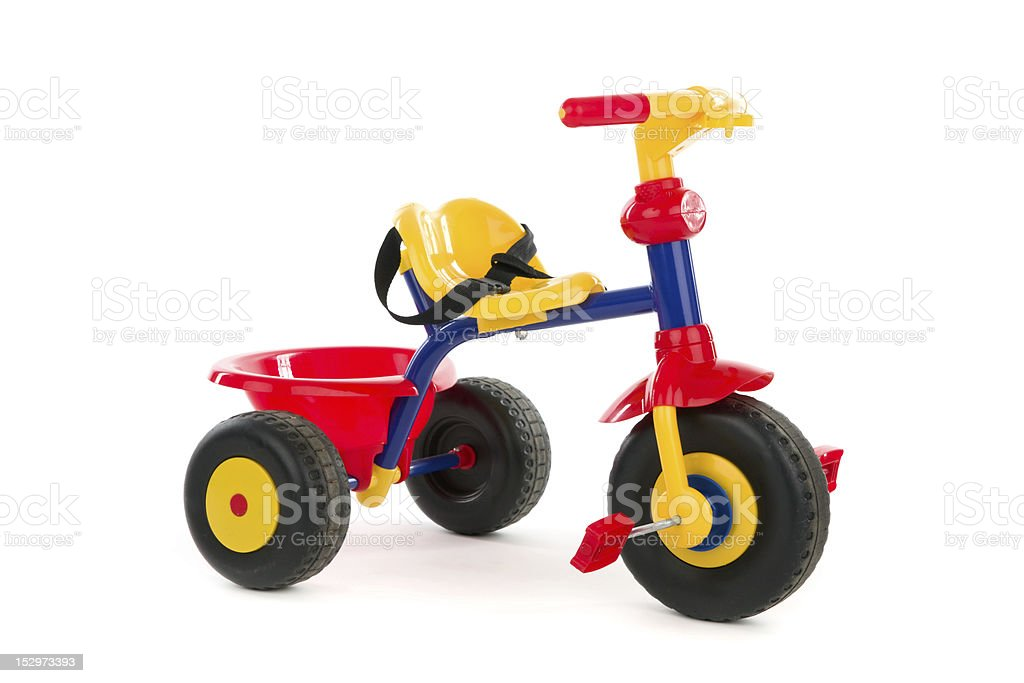 Childy tricycle stock photo