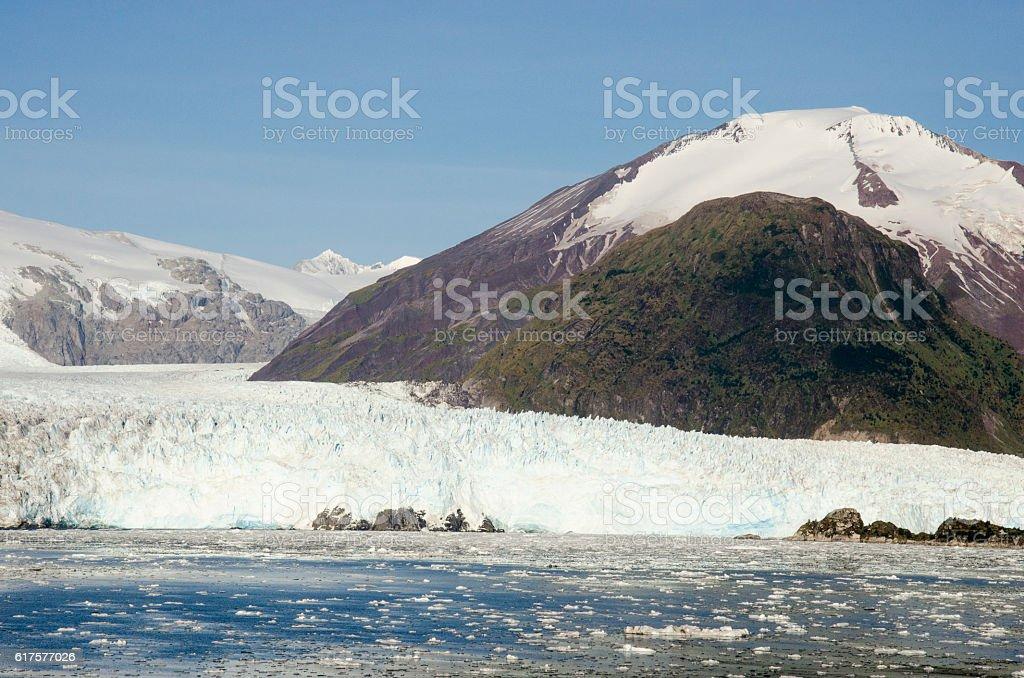 Chile - Amalia Glacier Landscape stock photo