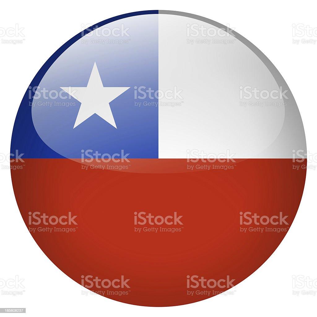 chile button stock photo