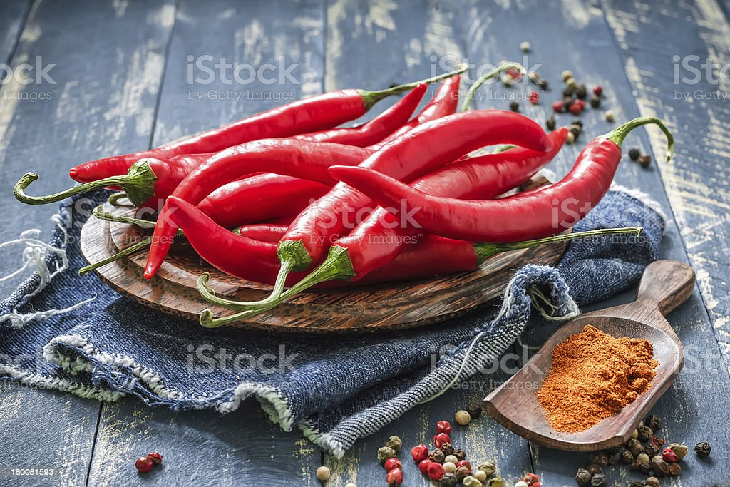Chili stock photo