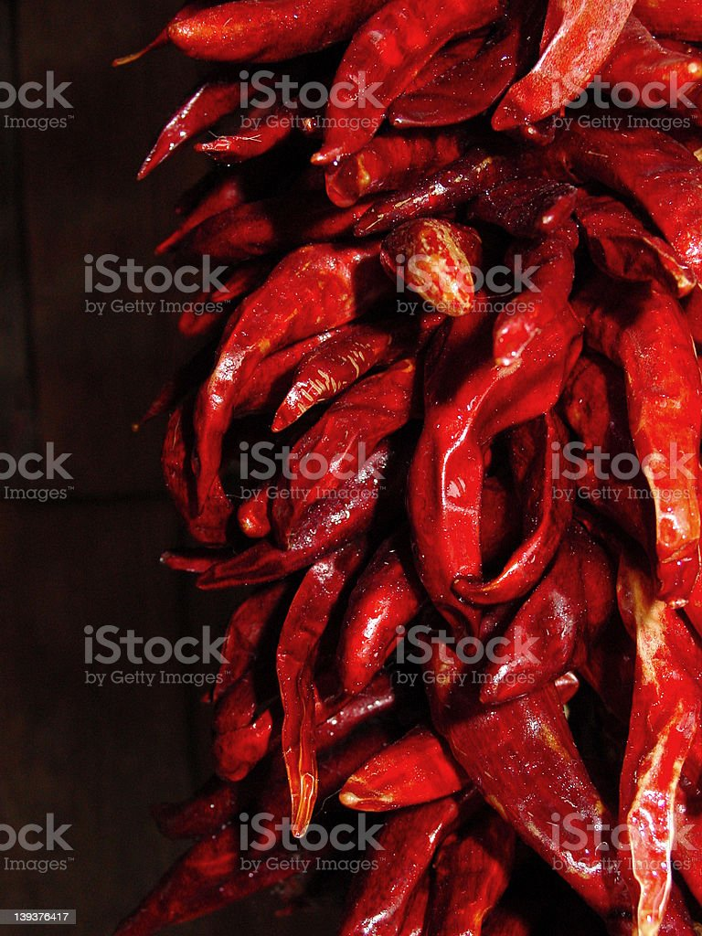 Chile Ristra 2 royalty-free stock photo