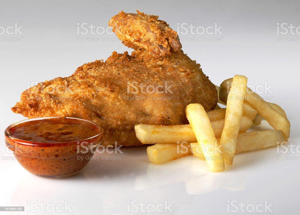 Chili Chicken stock photo