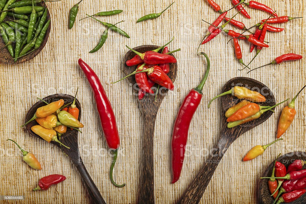 Chili pepper background royalty-free stock photo