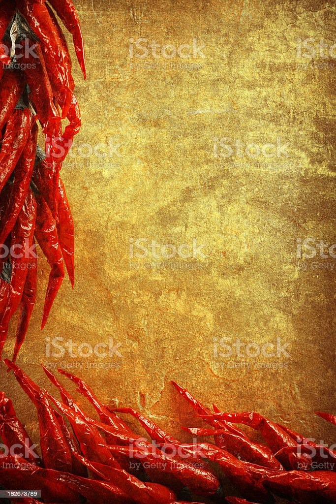 Chili Pepper Ristra royalty-free stock photo