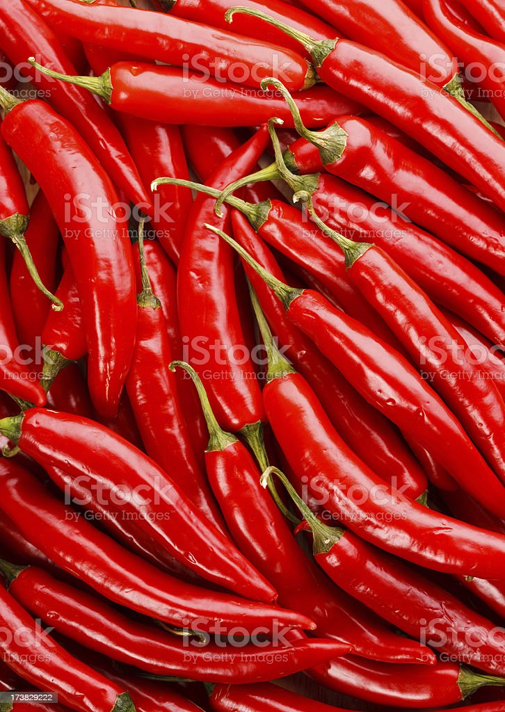 Chili Peppers Background stock photo