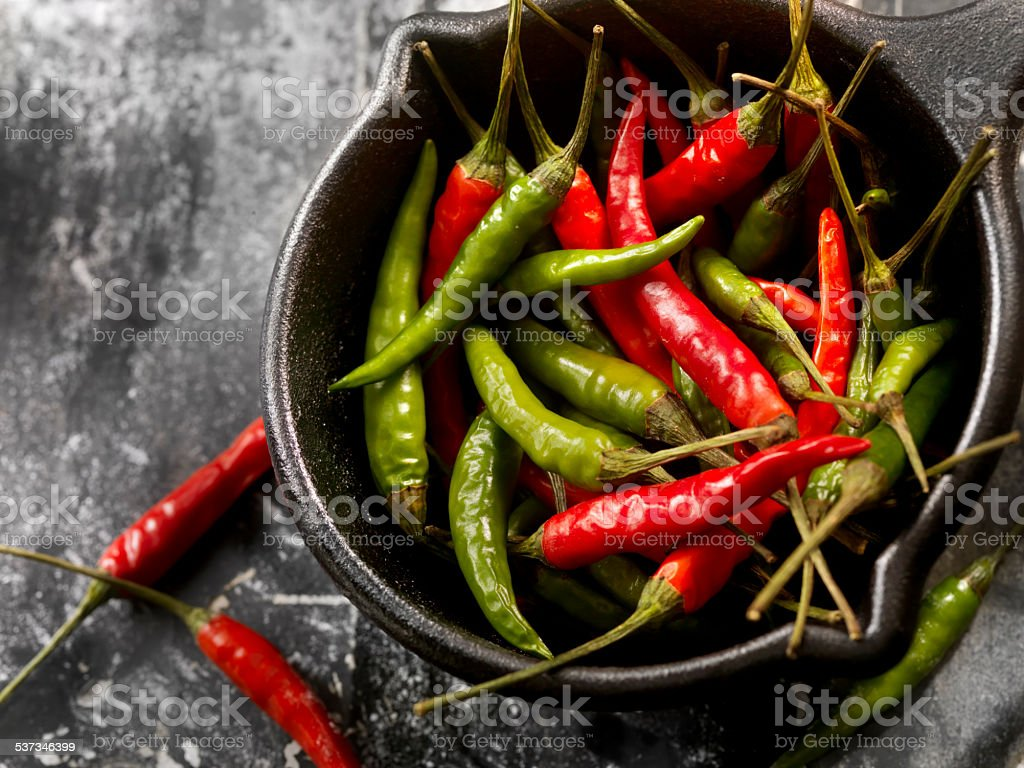 Chili Peppers stock photo