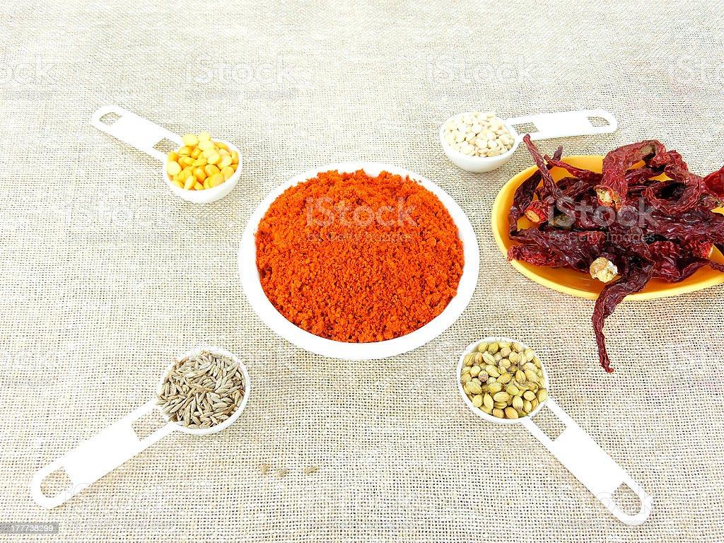Chili Powder royalty-free stock photo