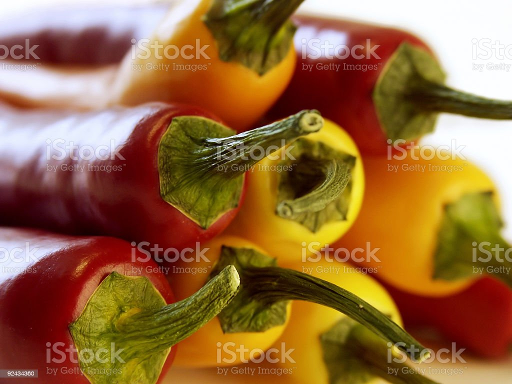 Chilies stock photo