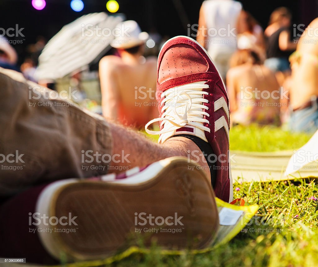 Chill Out Mode on stock photo