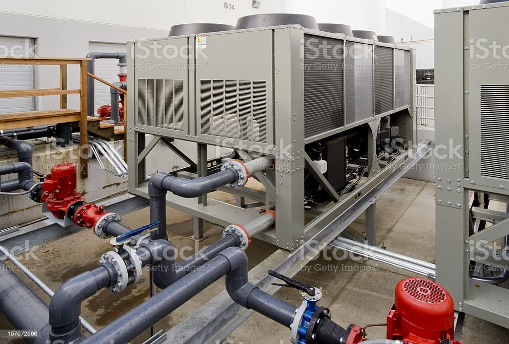 Chiller Units royalty-free stock photo