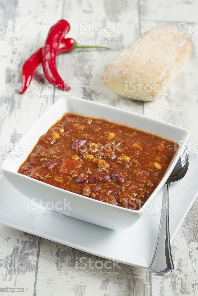 Chilli Con Carne royalty-free stock photo