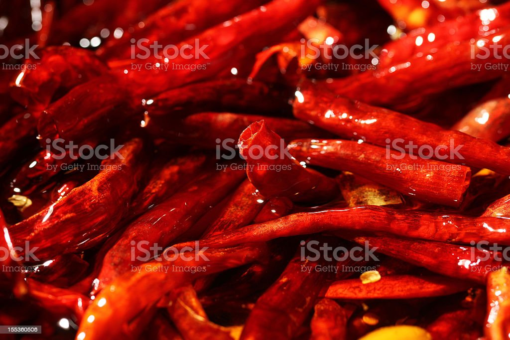 Chilli Peper stock photo