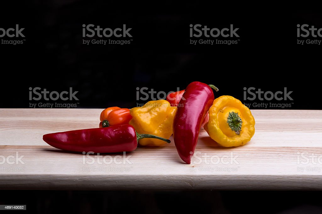 Chilli Peppers stock photo