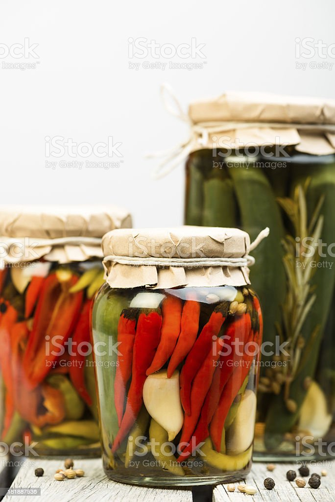 chilli pickle royalty-free stock photo