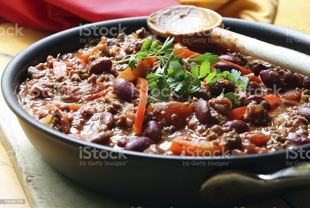 Chilli stock photo