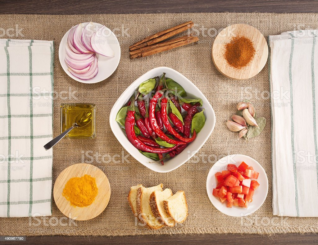 chilli time stock photo