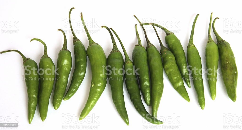 Chillies royalty-free stock photo