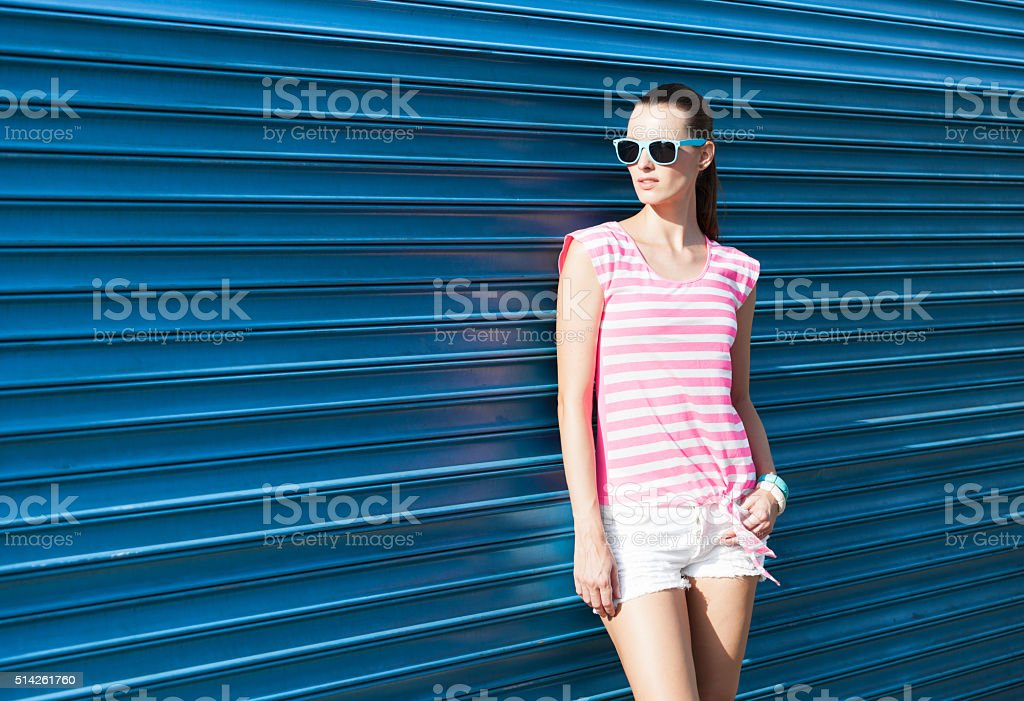Chilling in the city stock photo