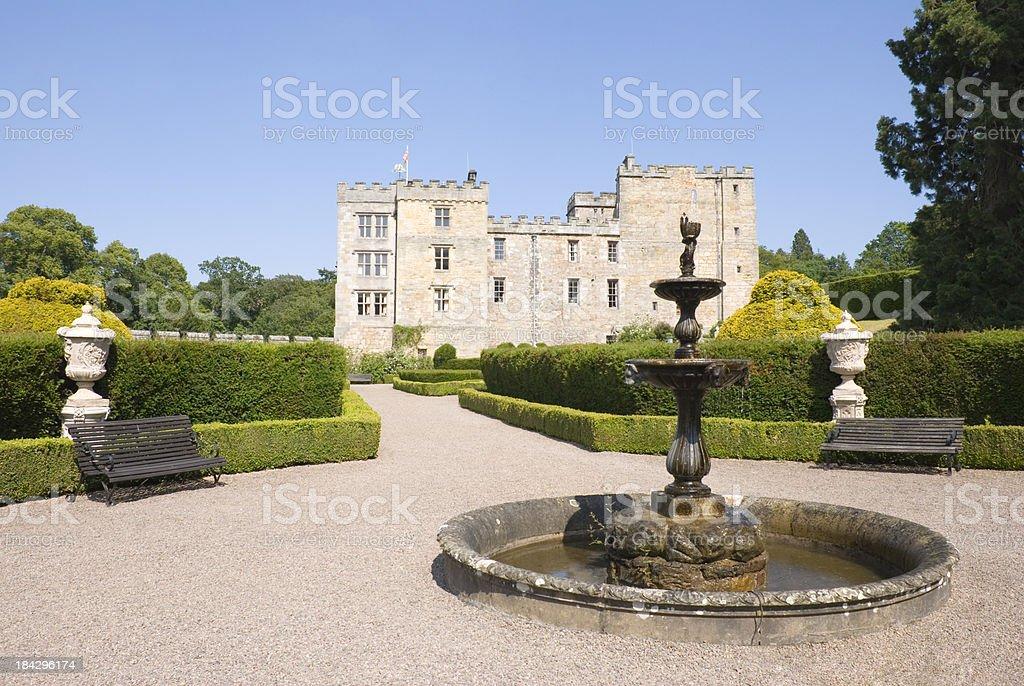 Chillingham Castle stock photo