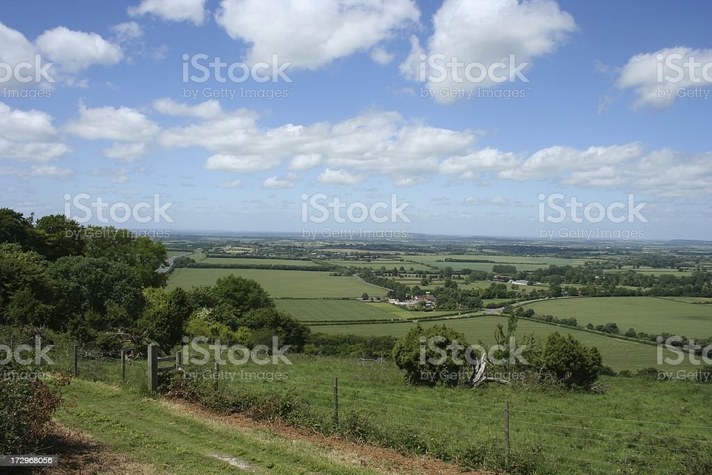 Chilterns View stock photo