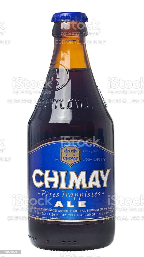 Chimay Belgian Beer stock photo