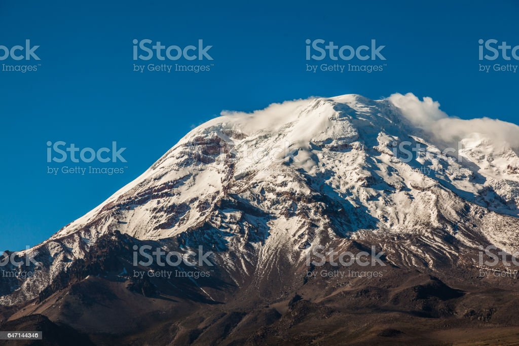 Chimborazo stock photo