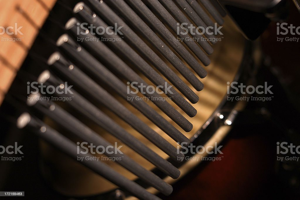 chimes and a bongo stock photo