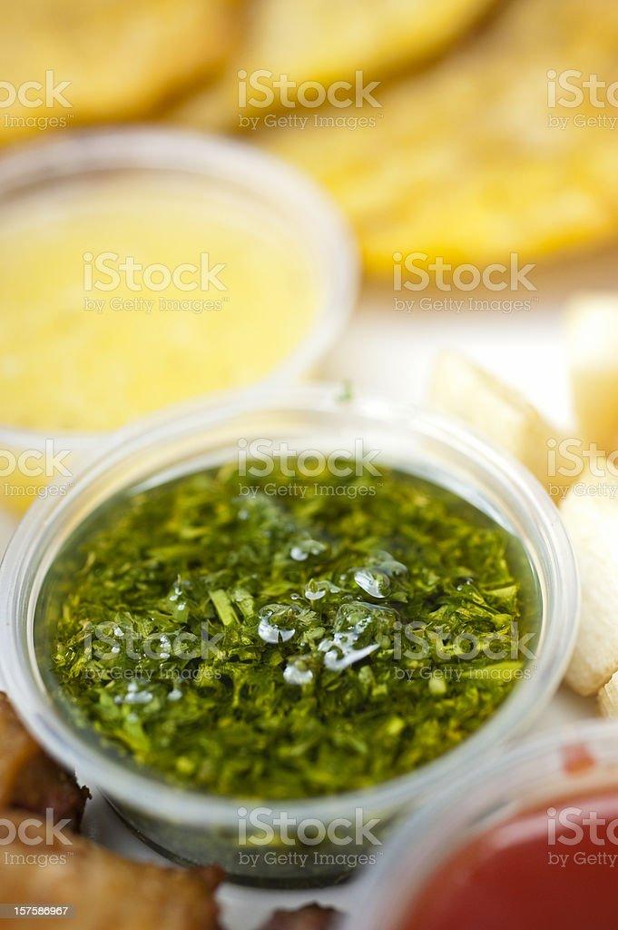 Chimichurri Sauce stock photo