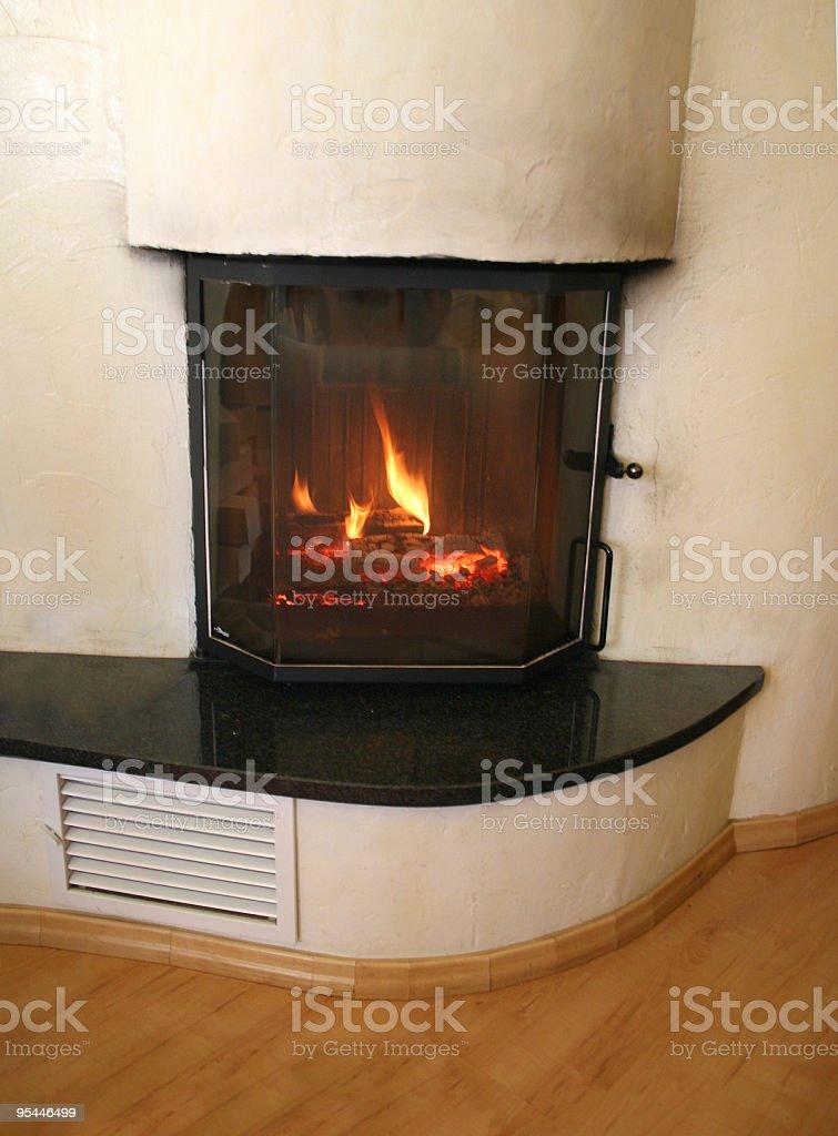 Chimney at home royalty-free stock photo
