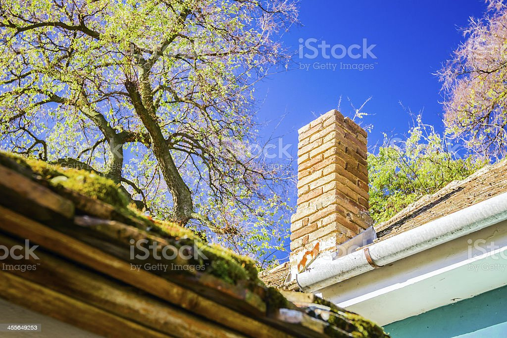 Chimney stock photo