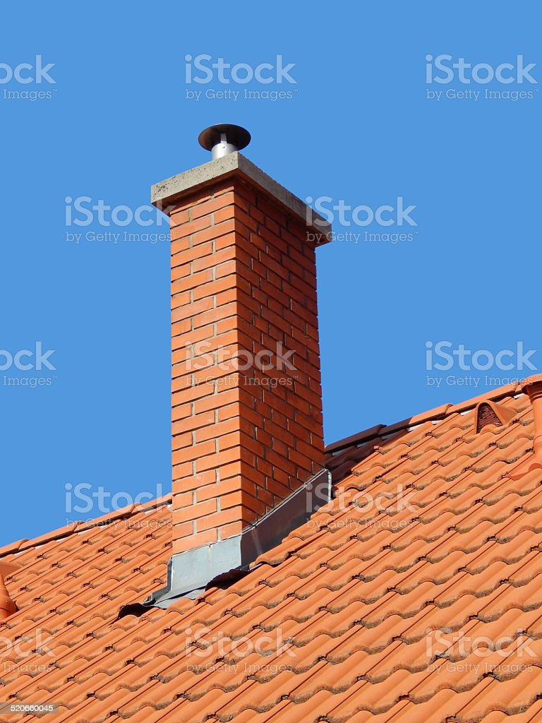chimney royalty-free stock photo