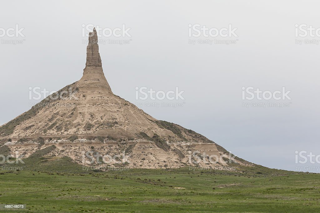 Chimney Rock royalty-free stock photo