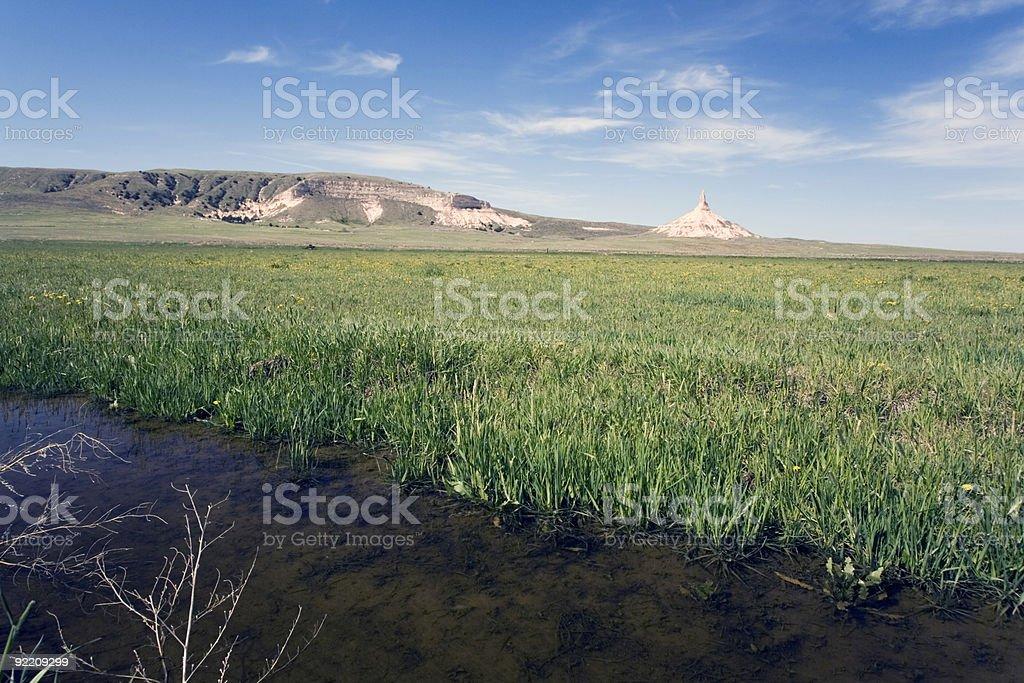 Chimney Rock royalty-free stock photo