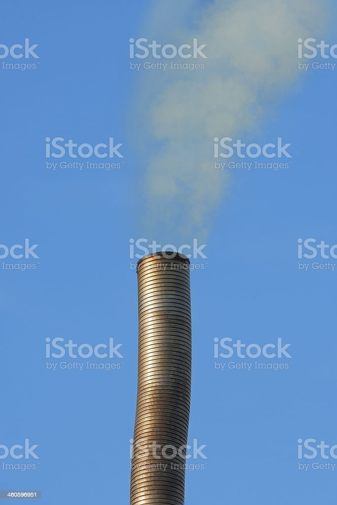 Chimney Smoke royalty-free stock photo