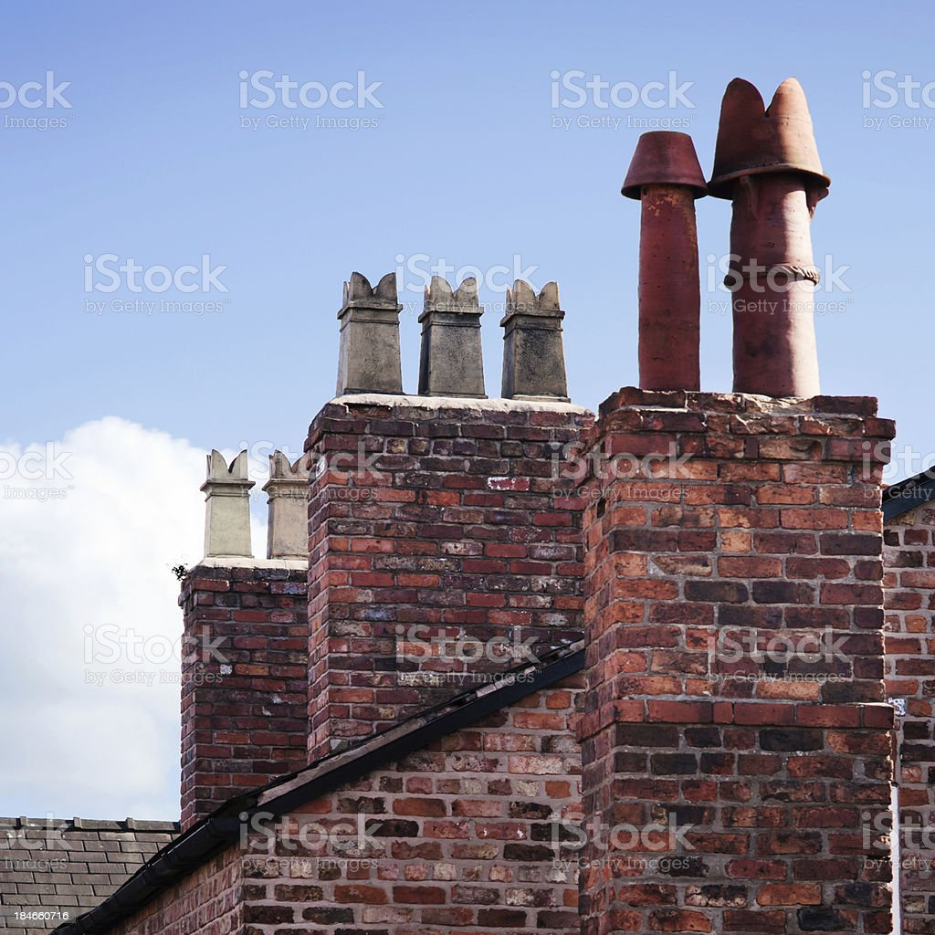 Chimney Tops royalty-free stock photo