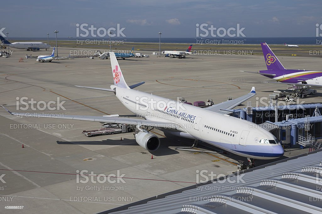 China Airlines Airbus A330 stock photo